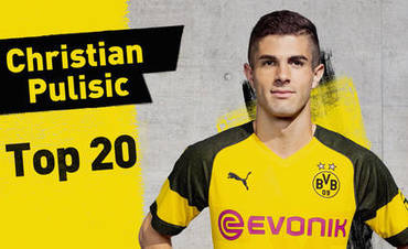Top 20 Christian Pulisic