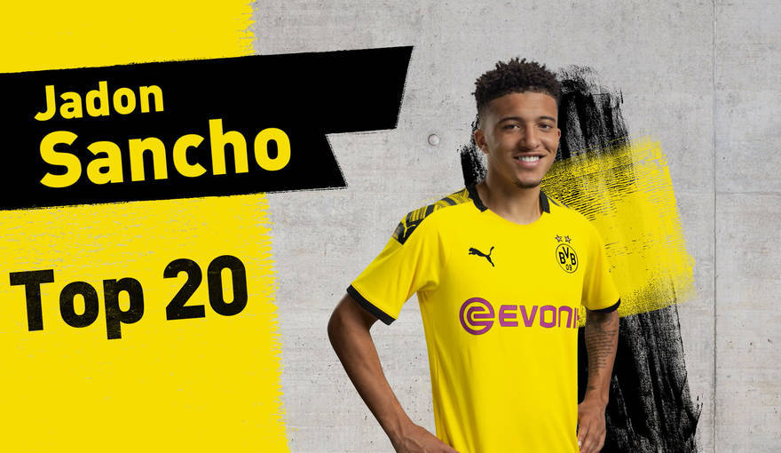 Top 20 -Jadon Sancho