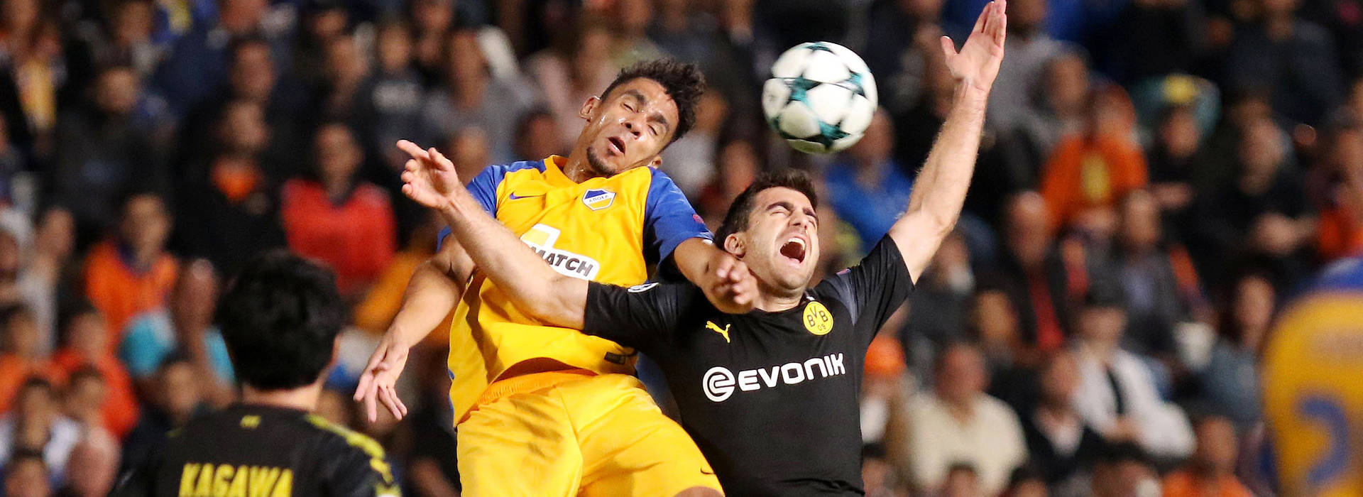 Sokratis levels as BVB are held to 1-1 draw in Cyprus