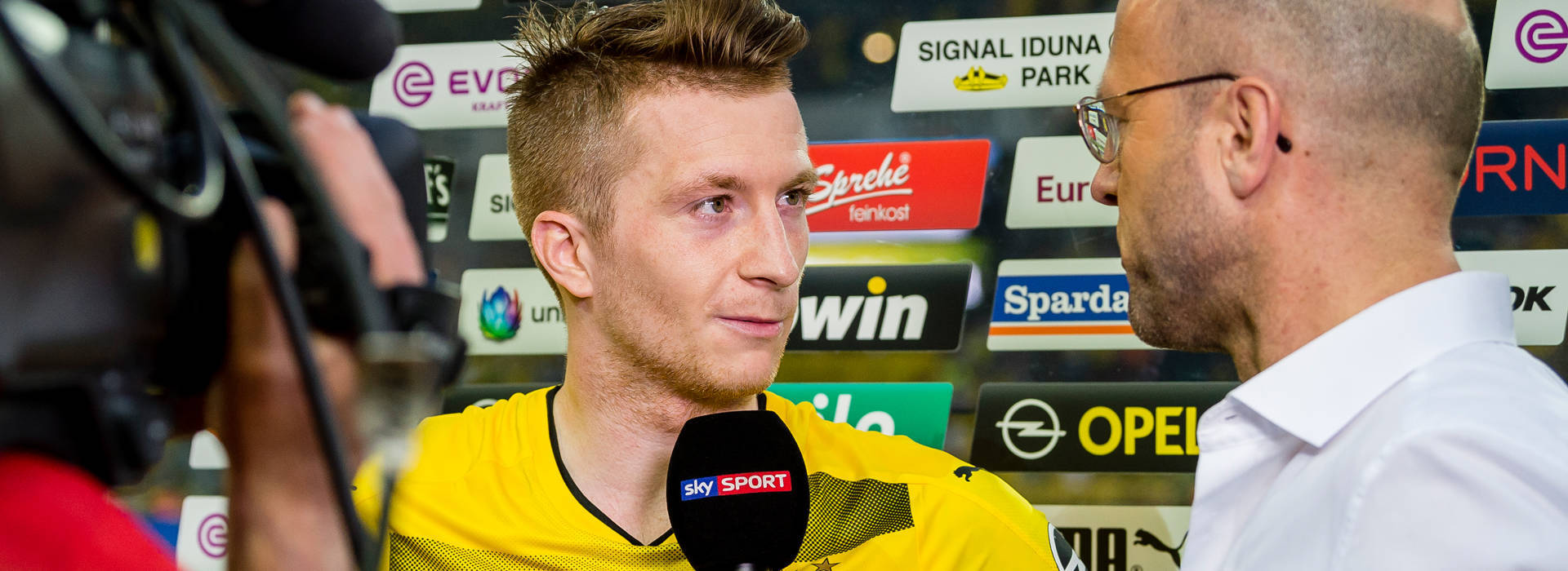 Marco Reus: Healthy and in his preferred position