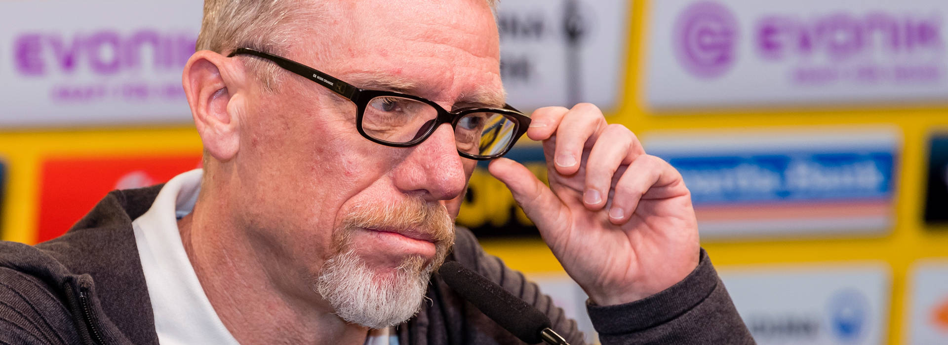 "Peter Stöger s'attend à un ""match ouvert"""