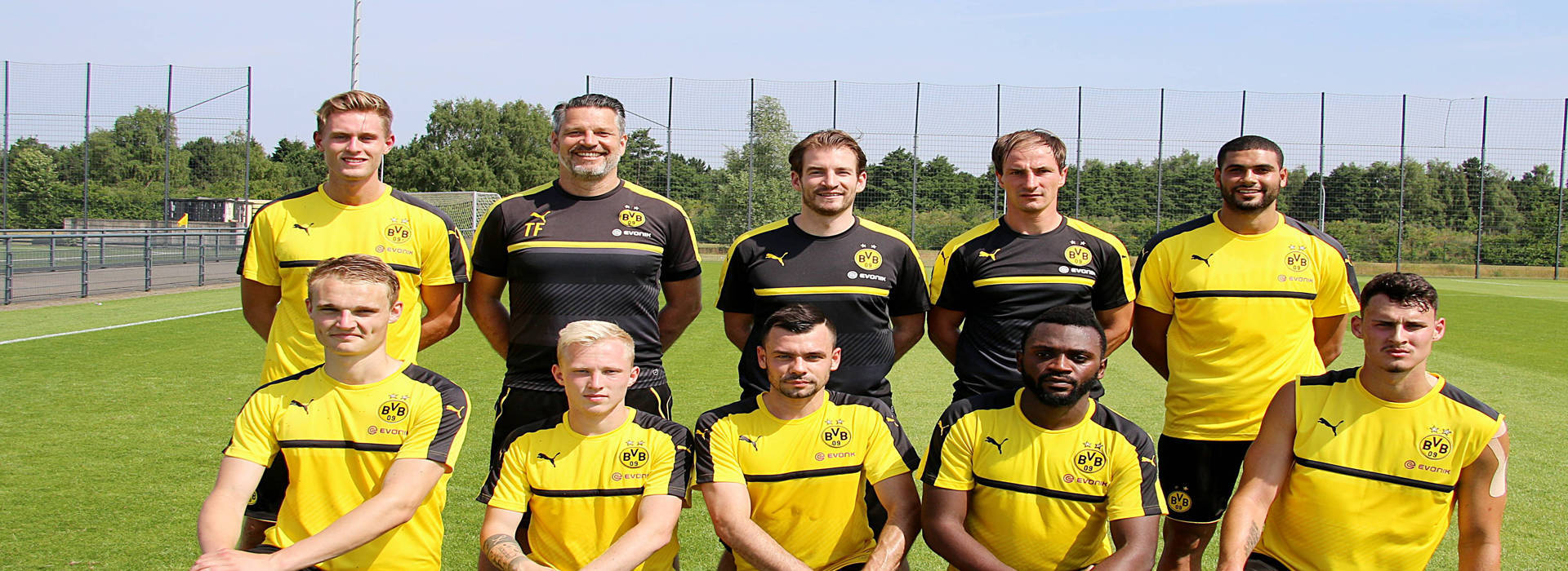 U23s begin training with new arrivals