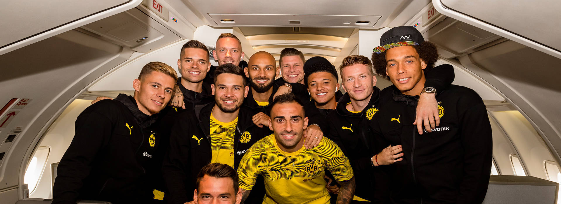 BVB depart for the United States