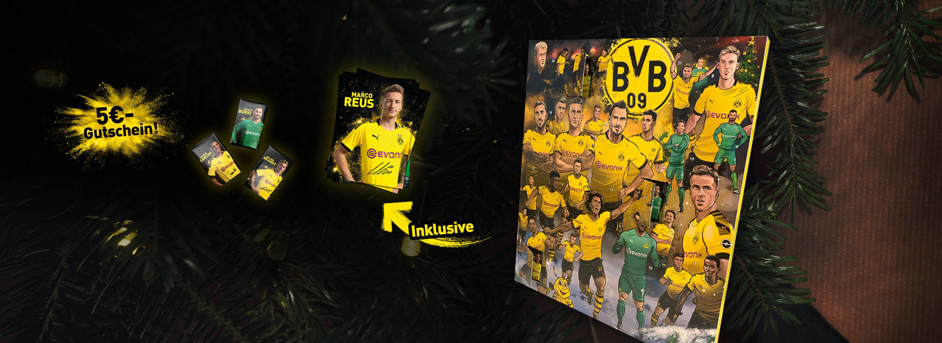 Unser BVB-Comic-Adventskalender