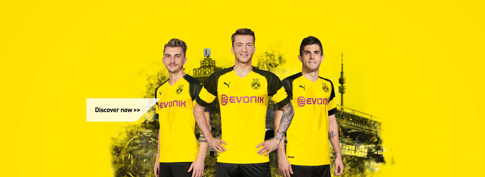 The new 18/19 Home Jersey:
