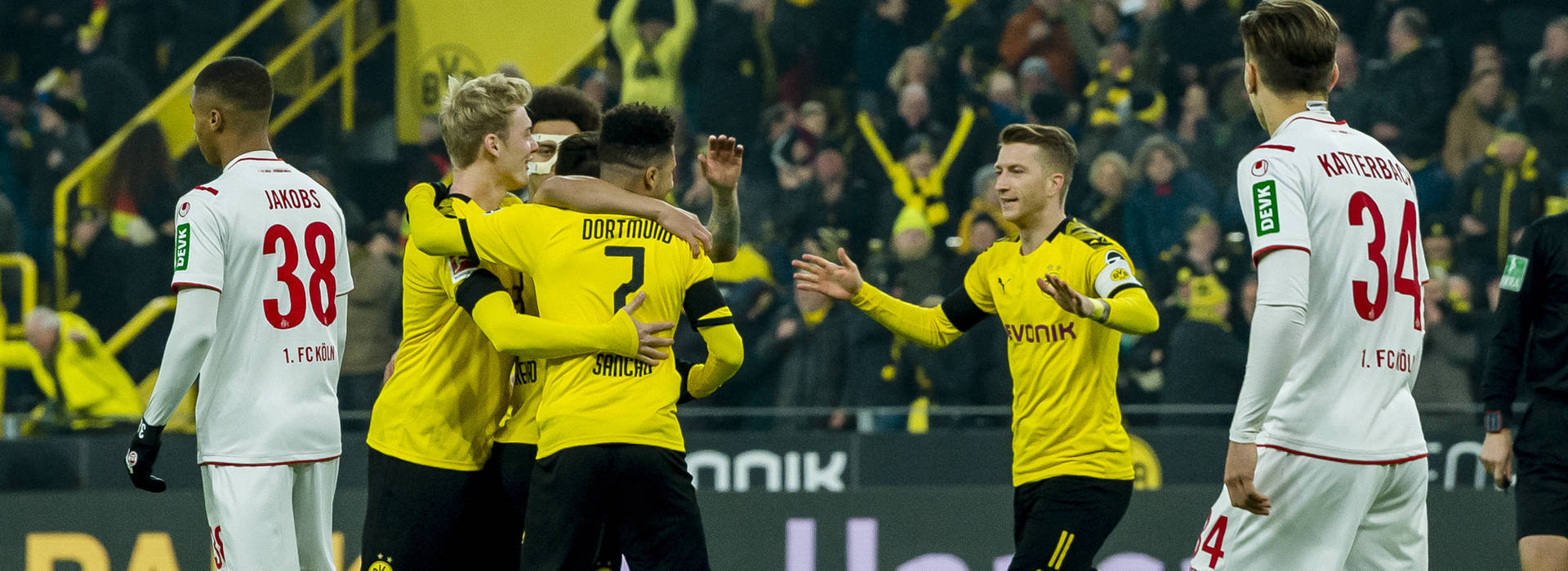 BVB unbeaten at home to Cologne for almost 30 years