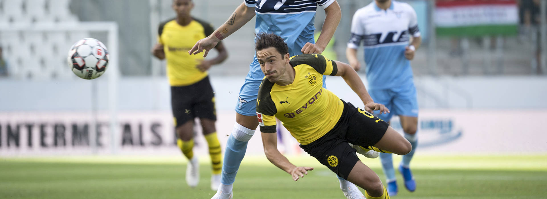 BVB round off pre-season with 1-0 victory over Lazio