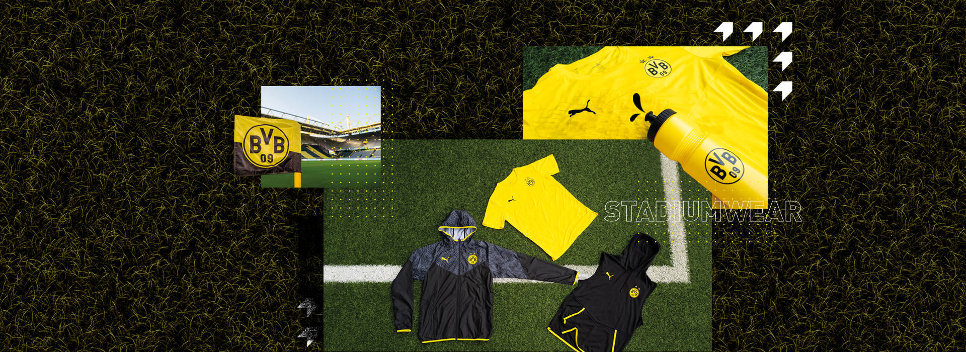 BVB-FanShop Our new BVB Stadium Collection