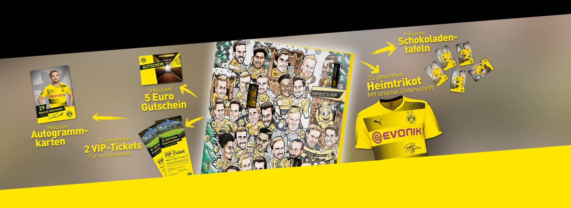 Der BVB-Comic-Adventskalender: