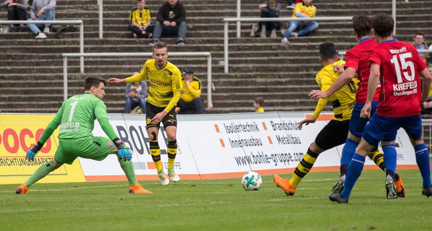 U23 verliert am Ende deutlich   bvb.de