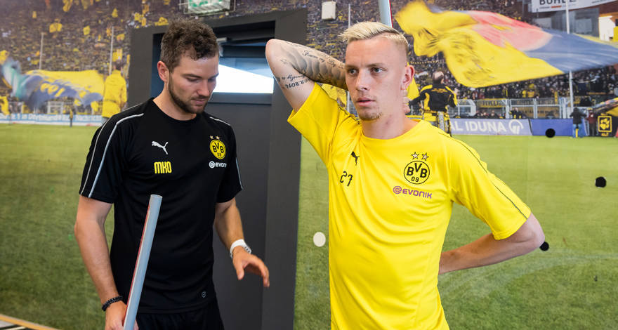 Maillot Extérieur Borussia Dortmund Marius Wolf