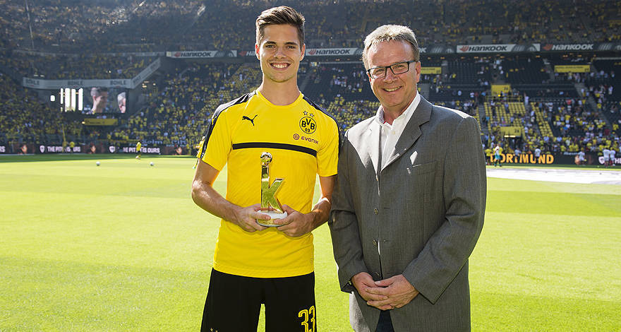 Maillot THIRD Borussia Dortmund Julian Weigl