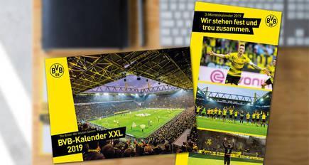 Borussia Dortmund 17 Monatskalender