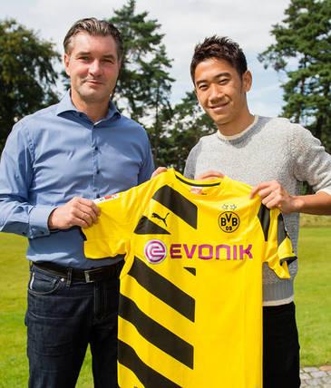 Shinji Kagawa returns to Borussia Dortmund   bvb.de