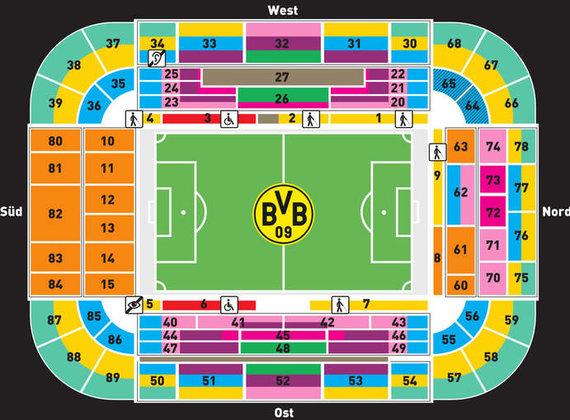 Bvb stadion sitzplätze