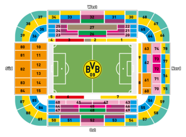 Bvb 09 Tickets Seating Plan Borussia Dortmund Bvb De