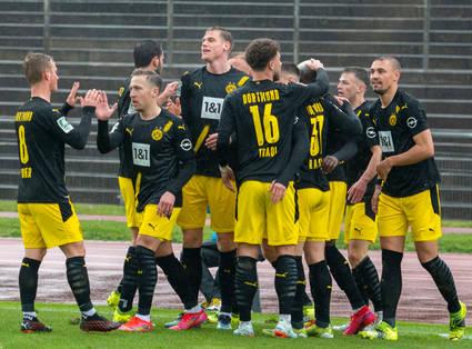 BVB gewinnt das U23-Duell in Mönchengladbach
