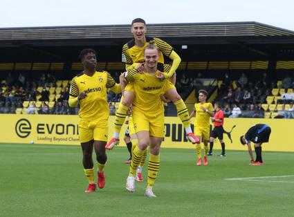 U19 springt mit 3:1-Sieg an die Tabellenspitze