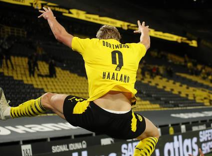 Erling Haaland auf den Spuren von Uwe Seeler