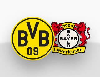 Spielpaarung Borussia Dortmund Bayer  Leverkusen