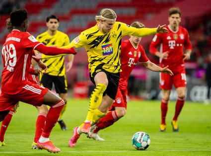 2:4 in München – Haaland trifft doppelt und muss verletzt raus