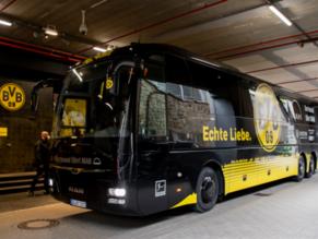 Besichtigt den BVB-Mannschaftsbus bei unserem Stadionspaziergang