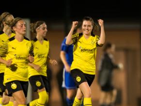 Nächstes Fußballfest: BVB-Frauen gewinnen 12:0 im Kreispokal