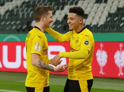 1:0 – Sancho schießt den BVB ins Halbfinale!