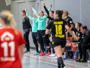 Erstes Spiel nach dem Titel: BVB-Damen bleiben ungeschlagen