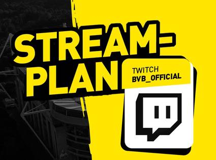Der aktuelle Twitch-Streamplan