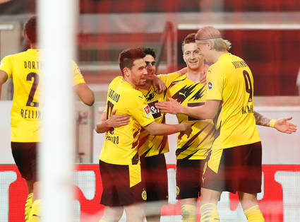 3:2 in Stuttgart – Bellingham, Reus und Knauff drehen das Spiel