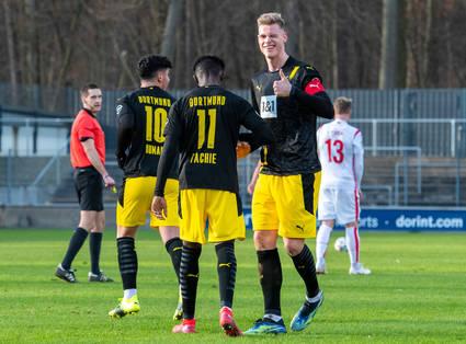 Reifer Auftritt: U23 siegt in Köln
